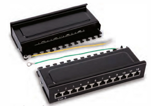 HY0312 shielded 12 ports patch panel(Desktop).