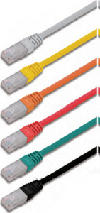 F/UTP shielded twisted 4 pairs category Se patch cord